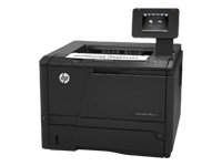 HP LaserJet Pro 400 M401dn - Printer - monochrome - Duplex - laser - Legal, A4 - 1200 dpi - up to 33 ppm - capacity: 300 sheets - USB host