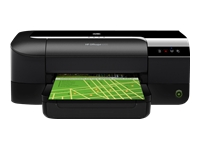 HP Officejet 6100 ePrinter - Printer - colour - ink-jet - Letter - 600 x 1200 dpi - up to 16 ppm (mono) / up to 9 ppm (colour) - capacity: 250 sheets - USB, LAN, Wi-Fi(n)