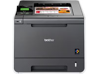 Brother HL-4140CN - Printer - colour - laser - Legal, A4 - 2400 x 600 dpi - up to 22 ppm (mono) / up to 22 ppm (colour) - capacity: 300 sheets - USB host