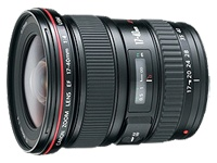 Camcorders Canon EF wide-angle zoom lens - 17 mm - 40 mm